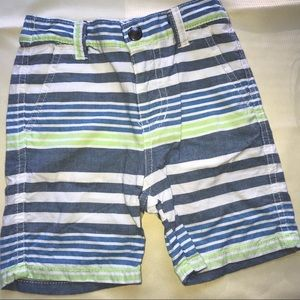 Nautica boys striped shorts 18 months